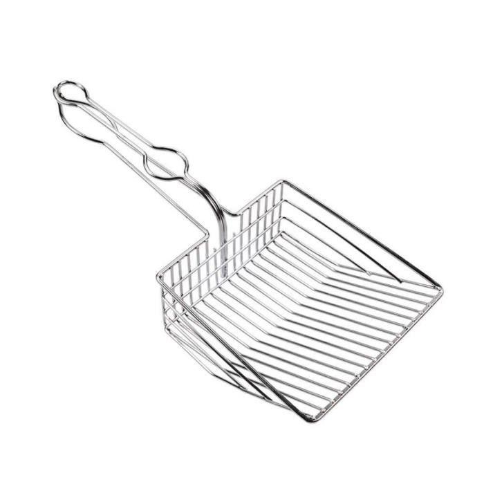 Outil de cuillère de nettoyage de toilette de Scoop de pelle de litière de chat pour des fournitures de chaton d'animal [21398DD]