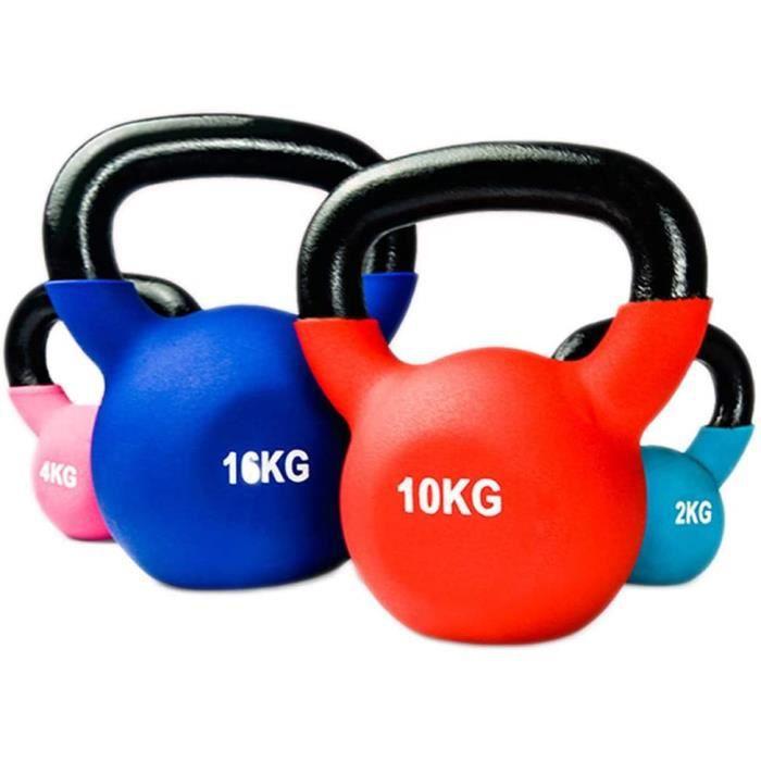 YXST Kettlebell 2kg-4kg-6kg-8kg-10kg-12kg-14kg-18kg-20kg éQuipement D'EntraîNement à Domicile Gym Force Fitness Pilates Musculat106