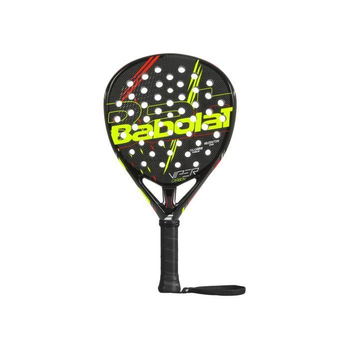 Raquette Padel BABOLAT Viper Carbon Noir / Ocre / Jaune 2020