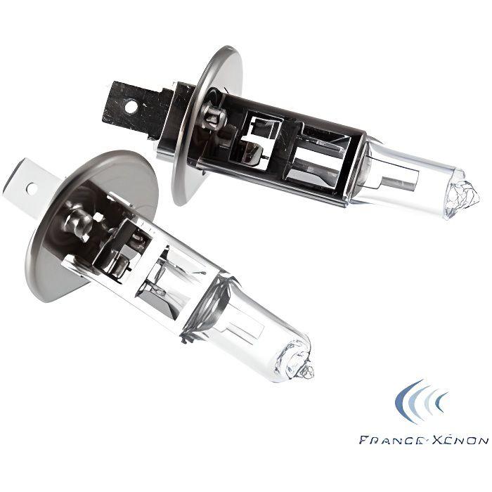 2 x Ampoules H1 100W 12V ORIGINE - FRANCE-XENON