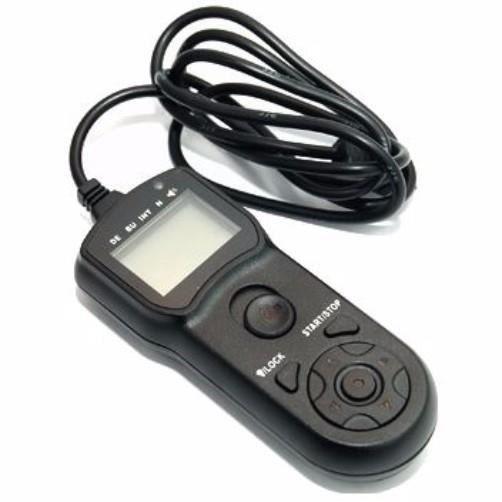 JJC équivalent à Nikon MC-DC2 Télécommande intervallomètre TM-M