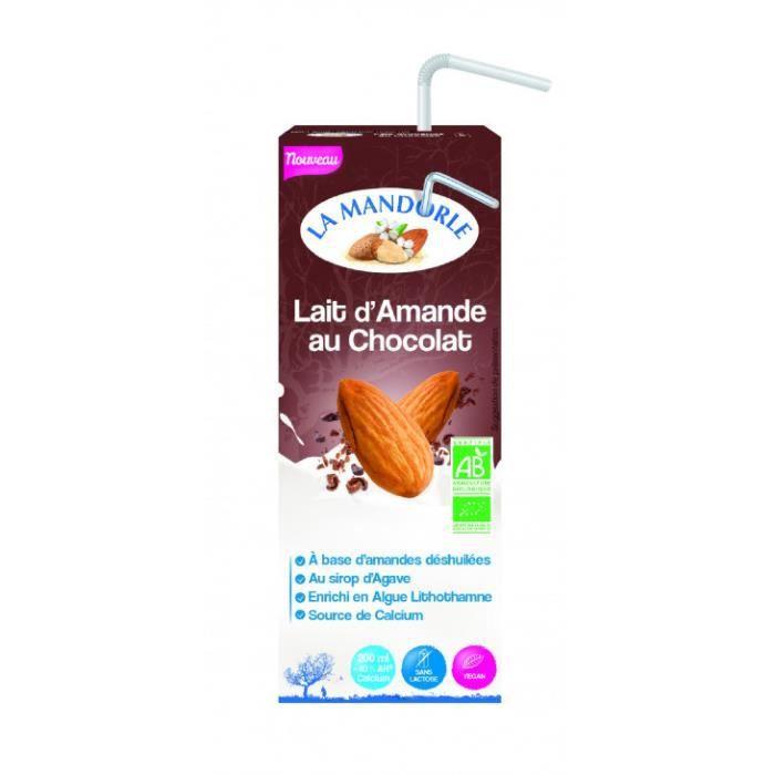 La Mandorle - Lait d'amande vanille