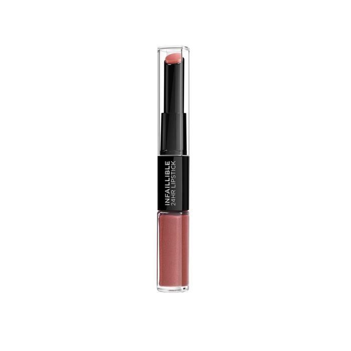 L'Oréal Paris Infaillible Rouge à Lèvres Duo 24H 404 Corail Constant
