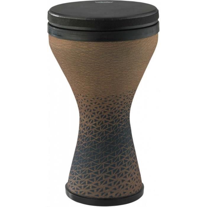 Remo DK-2510-64 - Djembé Doumbek pré-accordé, 10 x 17,5-, café