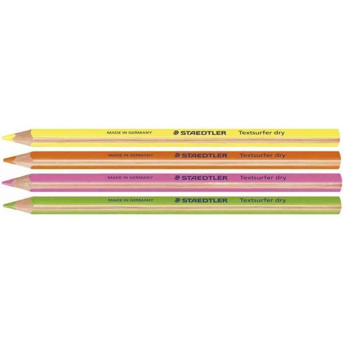 crayon surligneur à sec, vert