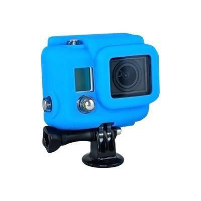 XSORIES Housse en Silicone pour GoPro HD HERO3 - Bleu
