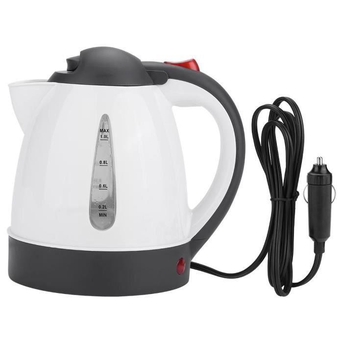 1L 24V Bouilloire d'eau électrique Bouteille de chauffe-eau pour la fabrication de café