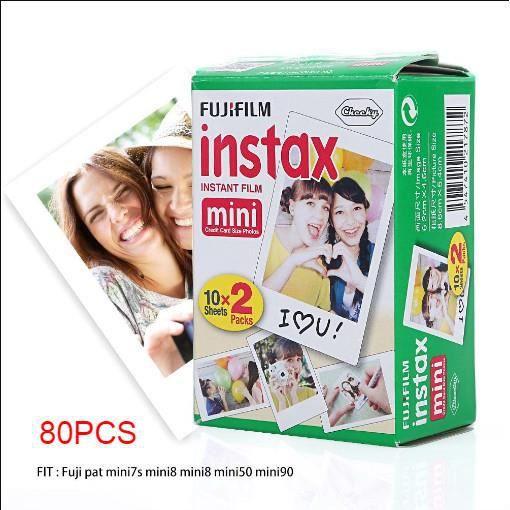 PAPIER PHOTO INSTANTANE Fujifilm INSTAX Mini Film Instantané 80 Feuilles P