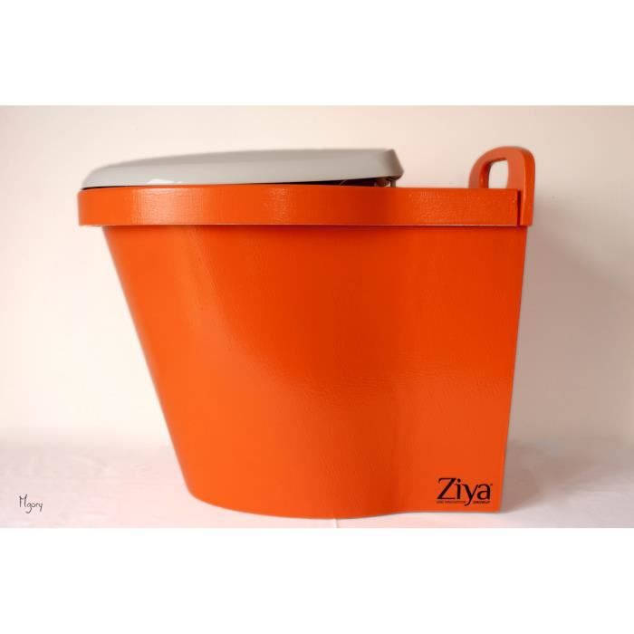 Toilettes s ches ziya clean rouge orang achat vente toilettes s ches toi - Toilettes japonaises prix ...