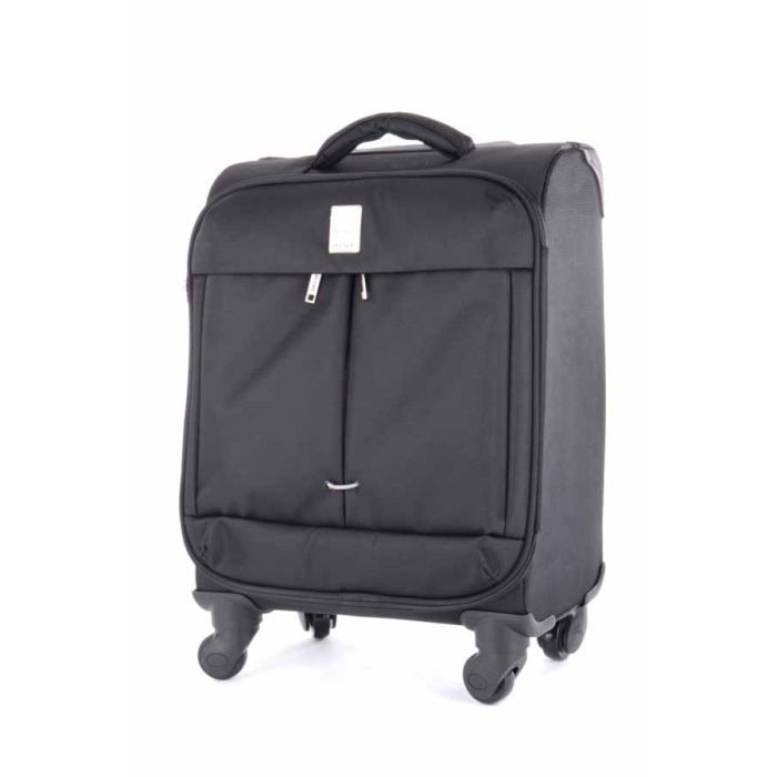 delsey valise cabine souple flight 55cm noir achat. Black Bedroom Furniture Sets. Home Design Ideas
