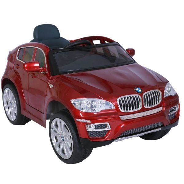 voiture lectrique 12v bmw x6 rouge m talllis achat vente voiture enfant cdiscount. Black Bedroom Furniture Sets. Home Design Ideas