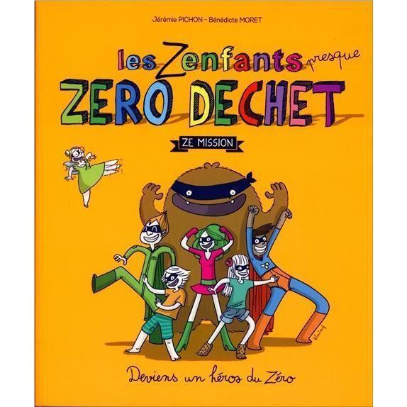 Livre Les Zenfants Zero Dechet