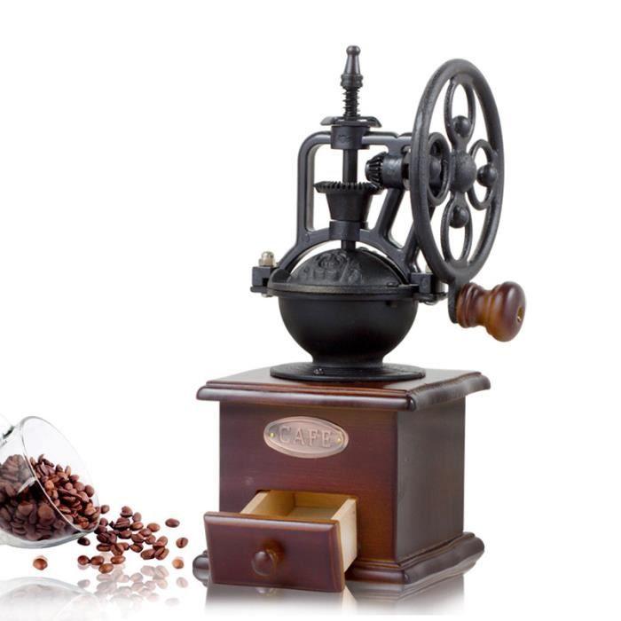En bois PILON /& MORTER 12 cm Spice Herb Main Moulin Broyeur Cuisine Nourriture préparer