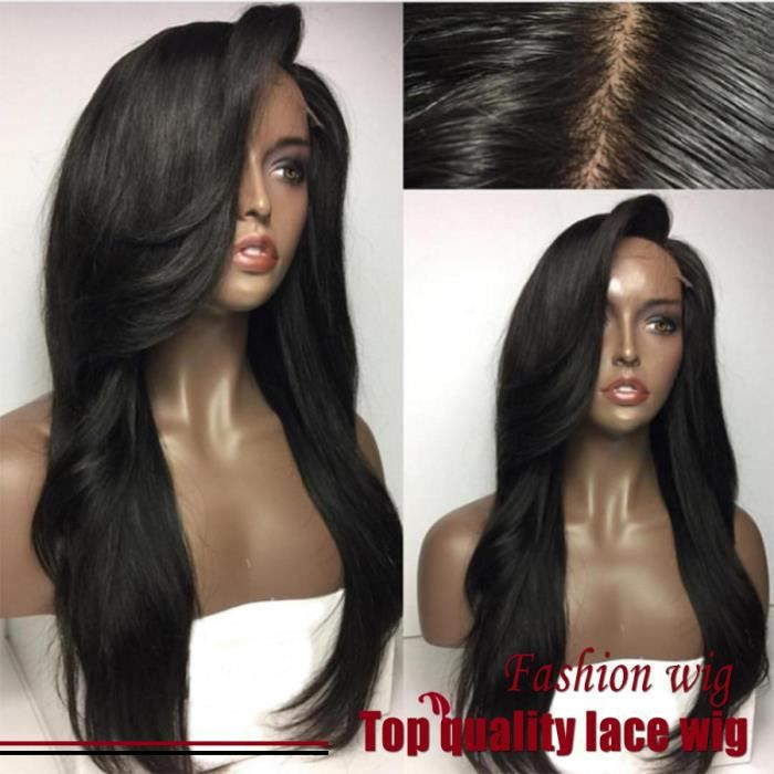 22inch 100% HUMAN HAIR Perruque Naturelle