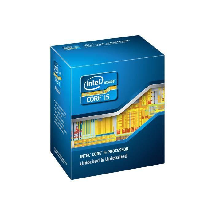 PROCESSEUR Intel Core i5 2320 3 GHz 4 cœurs 4 filetages 6 Mo