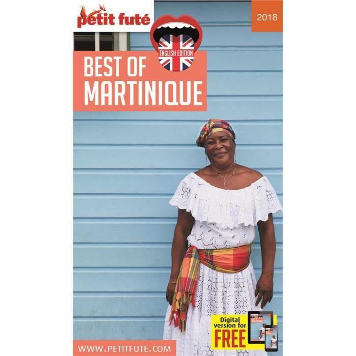 LIVRE RÉCIT DE VOYAGE Livre - best of Martinique (édition 2018)