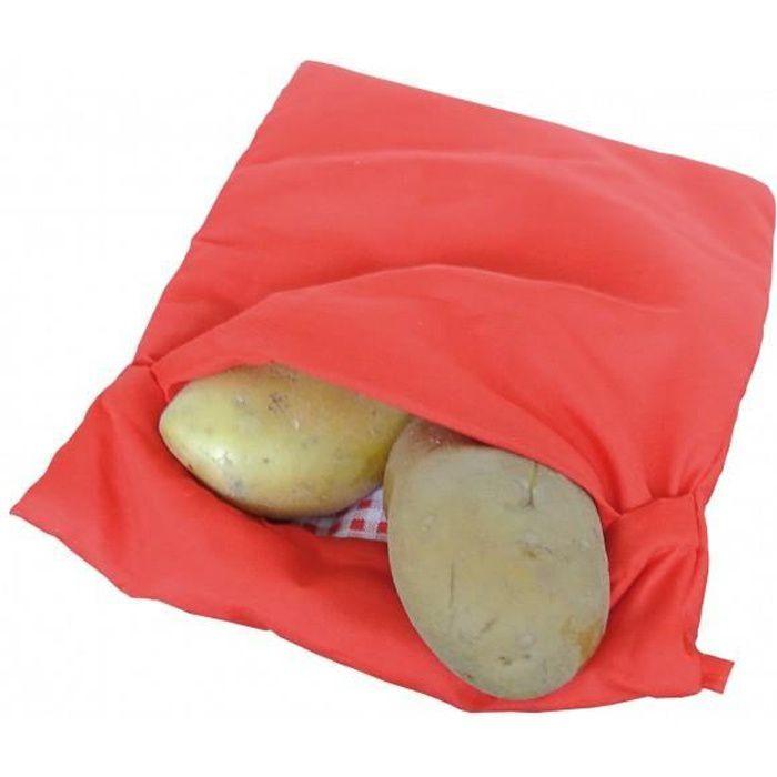 Sac cuisson pomme de terre au Micro ondes  Cuisson rapide patate