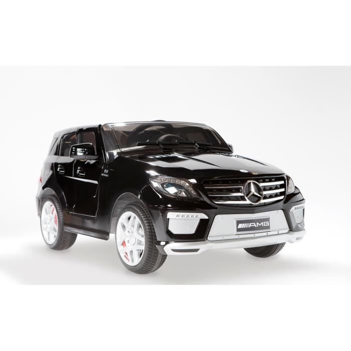 mercedes ml63 amg noir m tallis e voiture lectrique pour enfant 12v achat vente voiture. Black Bedroom Furniture Sets. Home Design Ideas