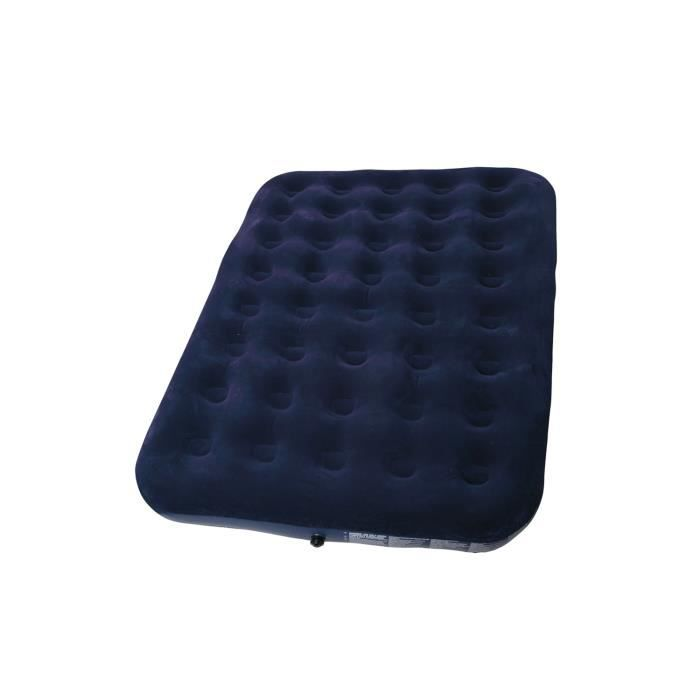 matelas pneumatique double 2 personnes camping finition velours compact durable prix pas cher. Black Bedroom Furniture Sets. Home Design Ideas