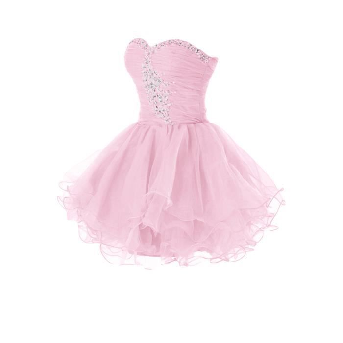 Robe cocktail style princesse