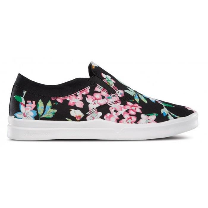 CHAUSSURES ETNIES CORBY SLIP SC WOS BLACK FLORAL