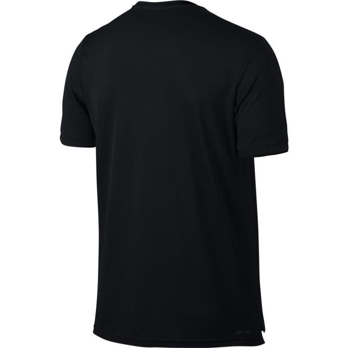 quality design fc0f2 824f5 T Shirt Nike Dry Team Noir Printemps 2018