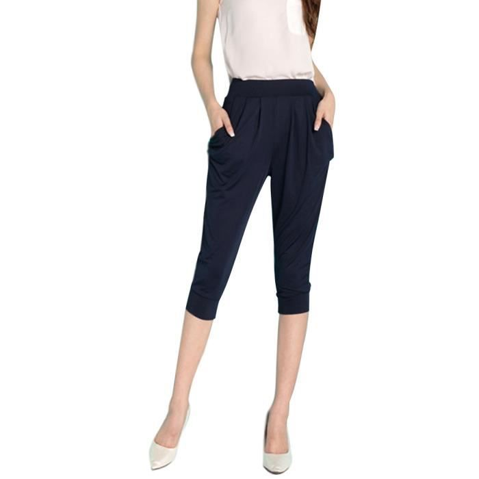 Minetom Pantacourt Femme Pantalons Courts