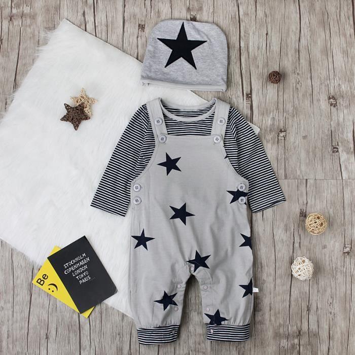 Bébé Garçons Vêtements Espagnol Style Marin ange 0-3 3-6 6-9 mois