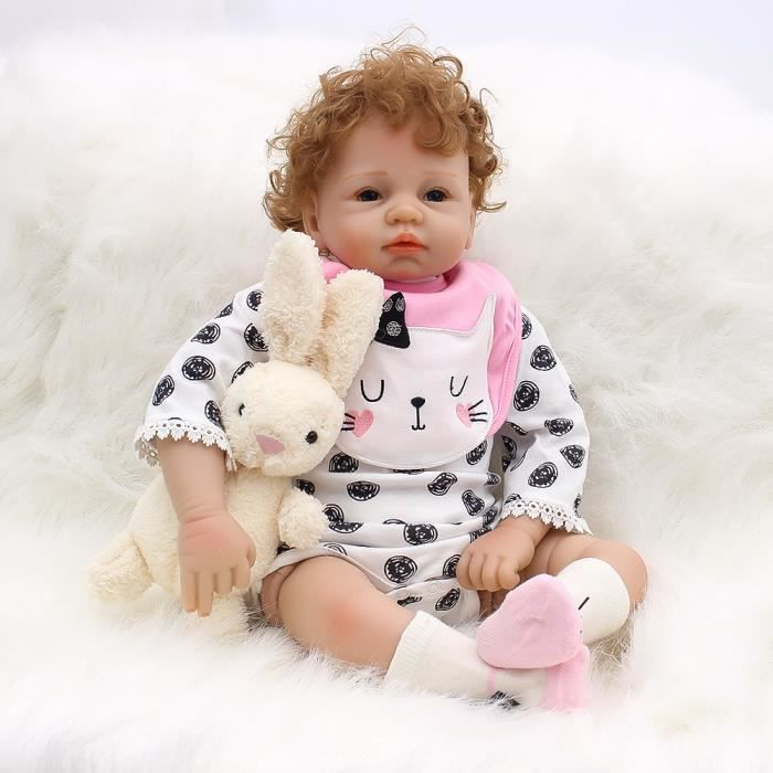 """22/"""" Hot Newborn Baby Clothes Reborn Doll Baby Girl Clothes NOT Included Doll"""