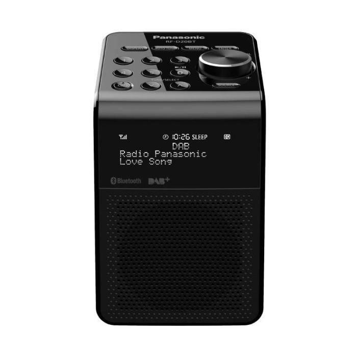 RADIO CD CASSETTE Radio PANASONIC - RFD 20 BTEGK • Radio • Petit Aud