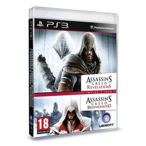 JEU PS3 ASSASSIN'S CREED BROTHERHOOD + REVELATIONS / PS3