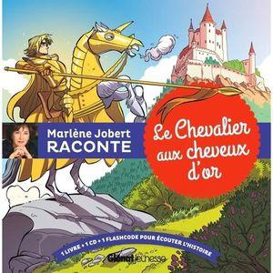 Livre 3-6 ANS Le chevalier aux cheveux d'or. Avec 1 CD audio MP3