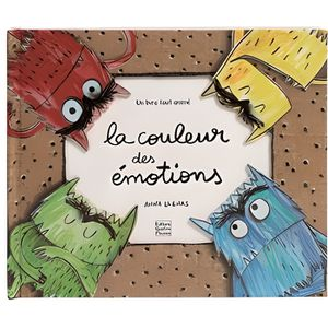 Livre 3-6 ANS La couleur des émotions