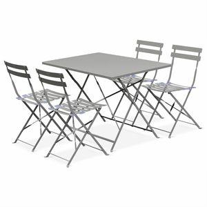 Mobilier de jardin TABLE RECTANGULAIRE EN RÉSINE PRESIDENT ...
