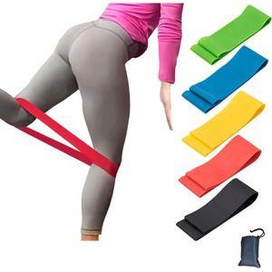 Bandes de Résistance Exercice Maison Gym Entraînement Booty yoga squat Leg Fitness Latex UK