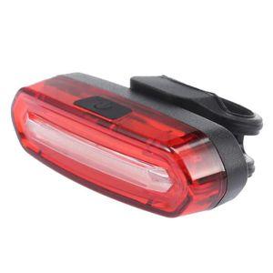 Silverline 5 led front clair arrière rouge vélo lampe vélo nuit cyclisme