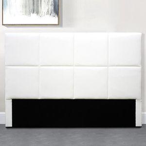 TÊTE DE LIT TÊTE DE LIT DESIGN ALEXI - Blanc - 160 cm