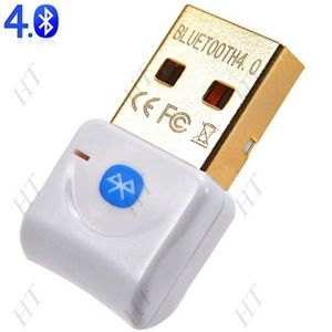 ADAPTATEUR BLUETOOTH Cle bluetooth Usb 4.0 dongle sans fil compatible w