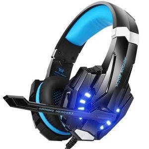 CASQUE AVEC MICROPHONE Casque Gaming Casque Gamer pour PS4 Xbox One Ninte