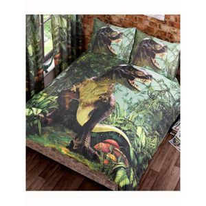 housse de couette dinosaures achat vente housse de. Black Bedroom Furniture Sets. Home Design Ideas