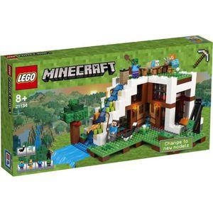 ASSEMBLAGE CONSTRUCTION LEGO® Minecraft 21134 La Base Sous La Cascade