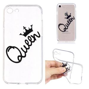 coque iphone 8 queen rose