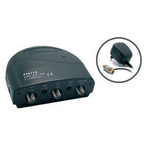 AMPLIFICATEUR HIFI Amplificateur int. blindé + alimentation Metronic