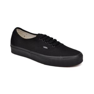 BASKET Basket Vans AUTHENTIC Noir Mono