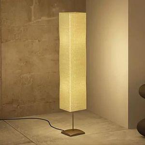 LAMPADAIRE Lampe à pied de salon 135 cm Alu crème Lampadaire