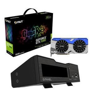 CARTE GRAPHIQUE INTERNE Carte graphique PALIT GEFORCE GTX 1080 GAMEROCK PR