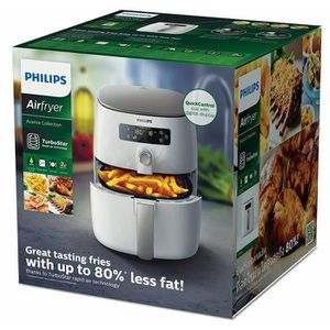 FRITEUSE ELECTRIQUE Philips HD9642/20 Airfryer Blanche + plateau