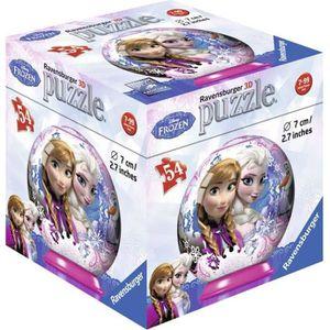 PUZZLE PUZZLE 54 PIECES 3D DISNEY FROZEN - Modèle Aléatoi