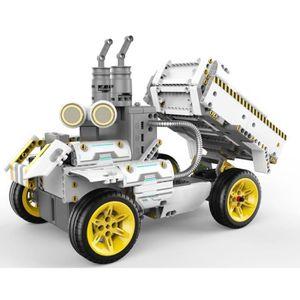 ROBOT - ANIMAL ANIMÉ UBTECH - Jimu Truckbots Robot connecté et éducatif