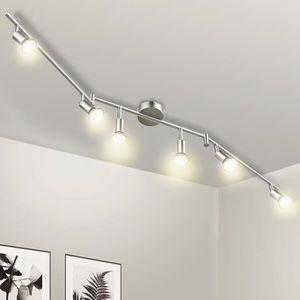 PLAFONNIER Wowatt Plafonnier LED à 6 spot Orientable avec 6x